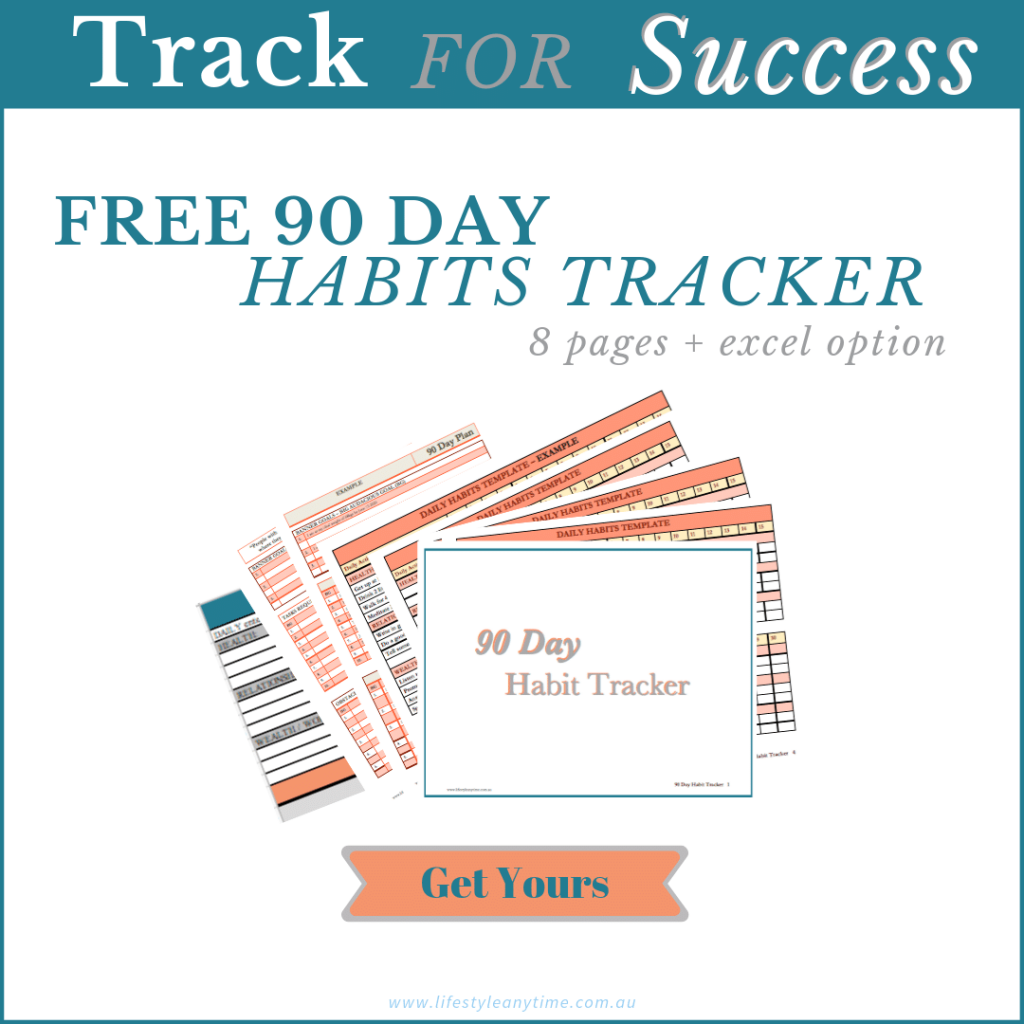 90 Day success tracker free download to help track for success