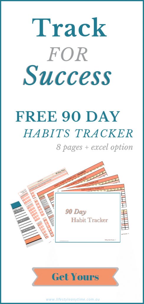 Track for success free 90 day habit tracker