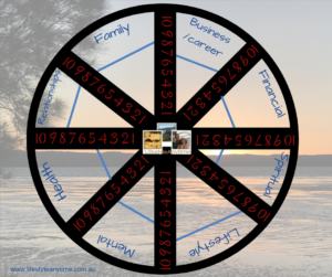 work life balance wheel