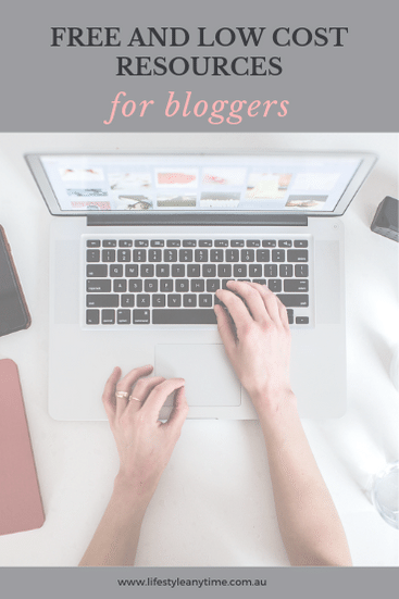 Free and low cost resources to get your blog up and running.