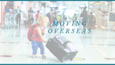 Tips for moving overseas as a family
