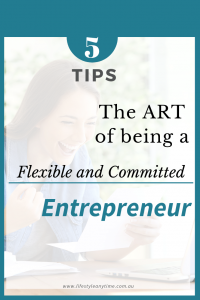 An entrepreneur showing excitement with a fist pump while reading a letter.