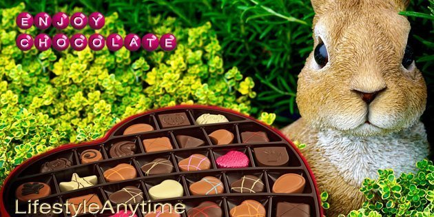 Your health goal says no chocolate. You are shouting yes. You don't need to feel guilty, as eating chocolate at Easter and throughout the year is possible. Enjoy Chocolate.