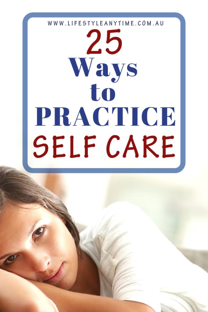 self love, self care