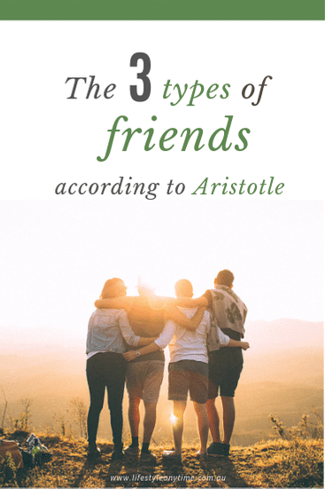 The 3 types of friends in life