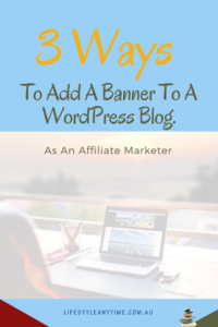 Add a banner to a blog post