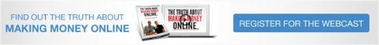 Making money online webinar banner