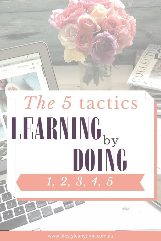 The 5 tactics learning by doing.