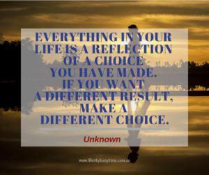 Choices in life quote