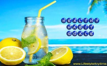 Lemon water a healthy habit