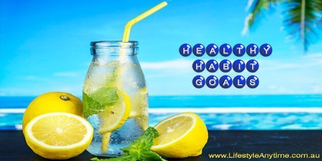 Lemon water a healthy habit