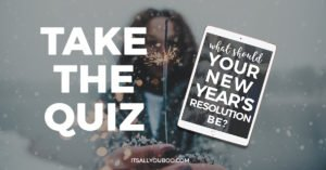 New Years goal quiz