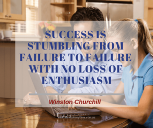 Winston Churchill quote on Success