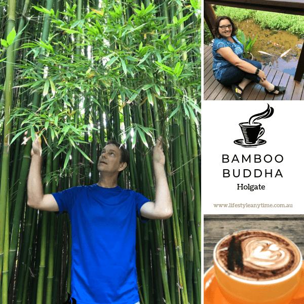 Coffee, Bamboo and Koi at Bamboo Buddha