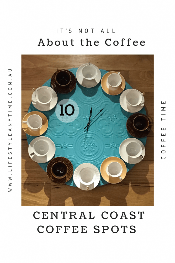 A coffee time clock must be coffee time