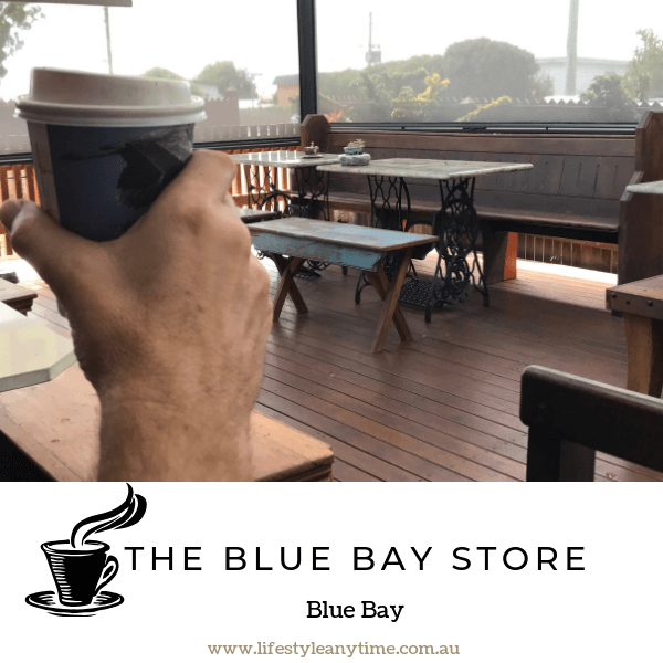 Coffee at the blue bay store Central Coast