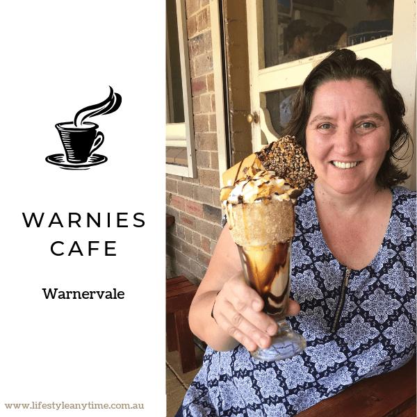 Milkshake at Warnies Cafe