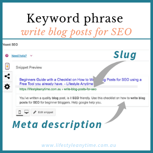 Beginners Guide and Checklist on How to Write Blog Posts for