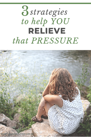 Worried, stressed discover 3 strategies to help you relieve that pressure.