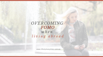 Is scrolling through social media good or bad when experiencing the FOMO when living abroad