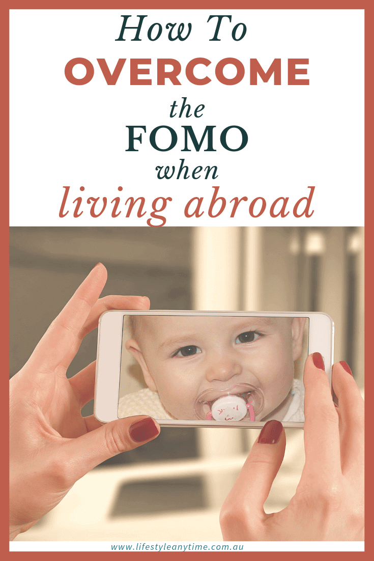 Share and embrace the present as you overcome the FOMO when living abroad.