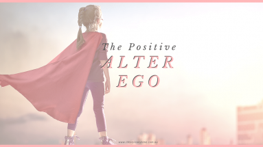 Stepping into character, the alter ego effect