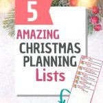 5 amazing christmas planning lists