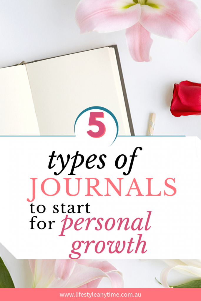 5 types of journals to start for personal growth