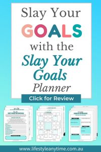 how to slay your goals with the slay your goals planner