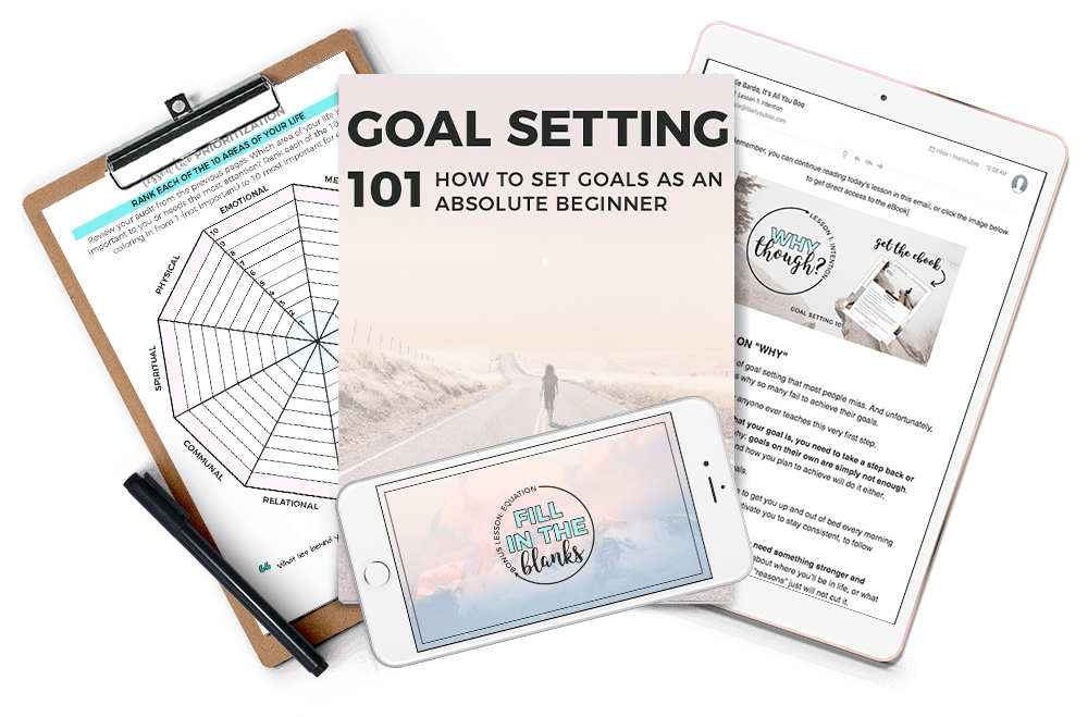 Slay your goals with the goal setting 101 course