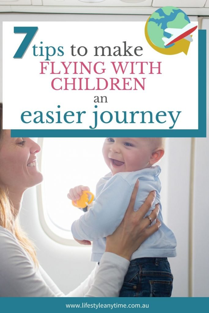 7 tips to make flying with children and enjoyable journey