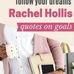 Stop Appologizing follow your dreams rachel Hollis quotes