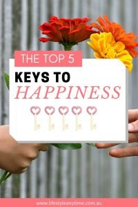 The top 5 keys to happiness