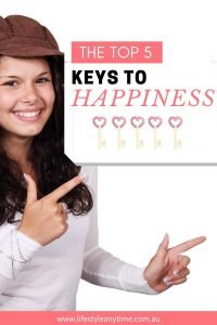 The top five keys to happiness.