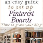 Library image to reflect the meaning of Pinterest boards