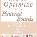 Pinterest board samples