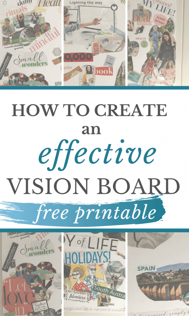How to create an effective vision board that works