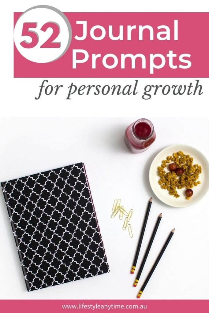 Journaling ideas for personal growth
