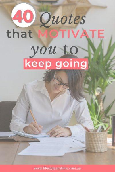 40 quotes that motivate