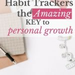 A journal and habit tracker the key to personal growth.