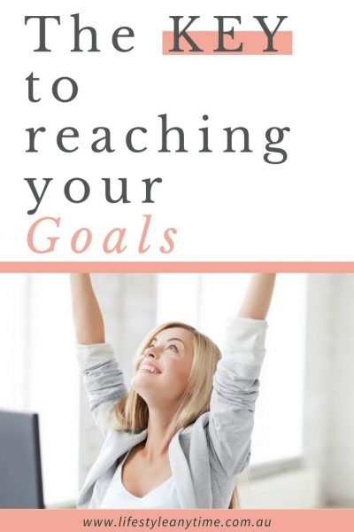 Reach for your goals with consistent action.
