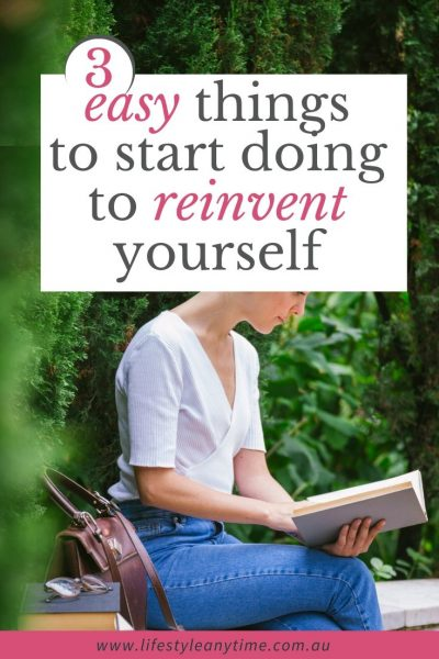 Reinvent yourself with reading books and personal development