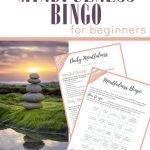 MIndfulness Bingo for beginners