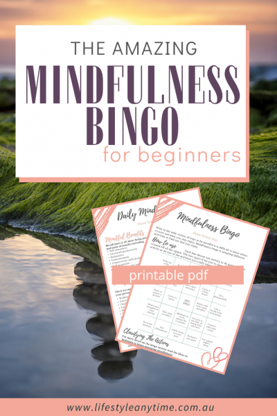 The amazing mindfulness bingo for beginners