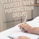 Tips on pursuing your goals